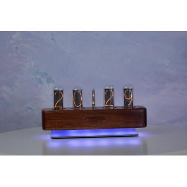 ПрофКиП Ламповые Часы — Абсолютная Точность (венге)
